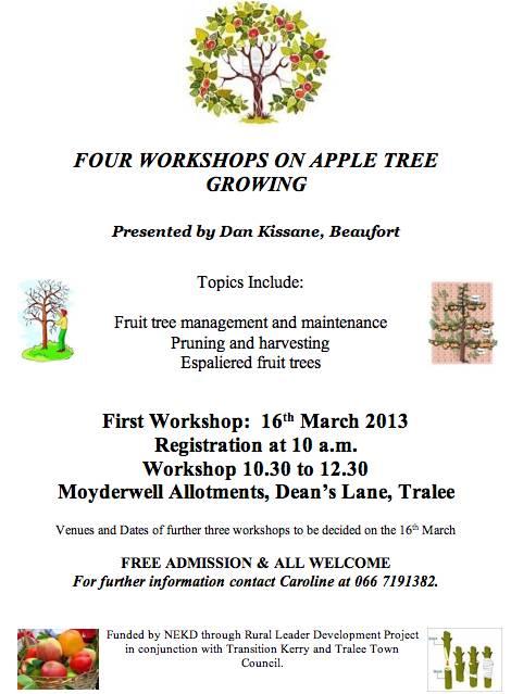 Apple Tree Growing Workshops