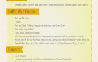 Meal of the Kingdom Menu