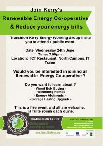 Renewable Energy Co-operative Public Event