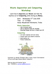 Waste Seperation and Composting workshop