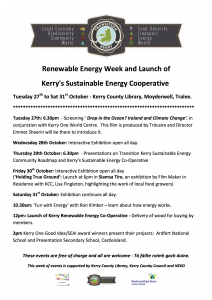 library TK week events kerry co-op poster