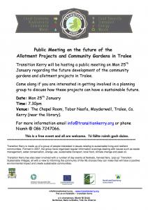 TK poster public meeting 25th jan 2015