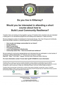 2016 TK Community Resilience Course Killarney